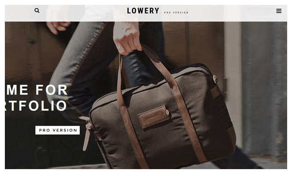 lowery joomla template