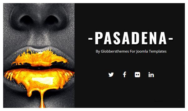Pasadena Joomla Template