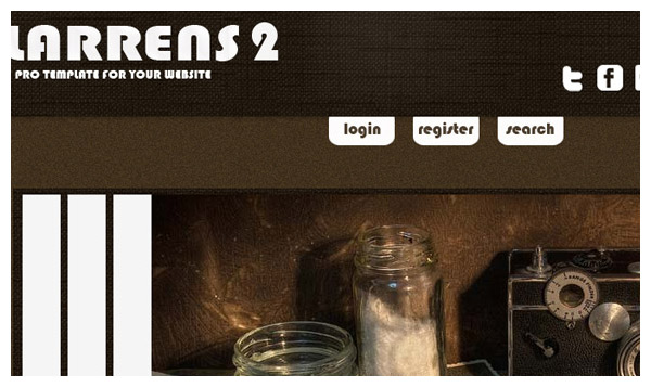 larrens 2 joomla template
