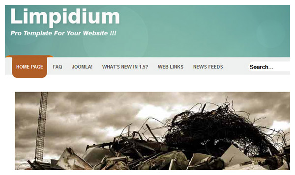 limpidium joomla template