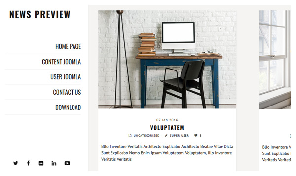 news previews wordpress themes responsive