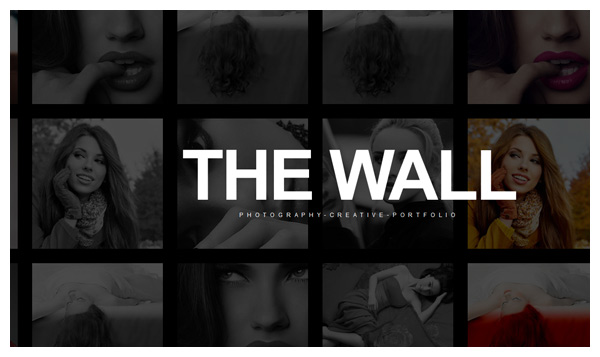 the wall wordpress theme responsive