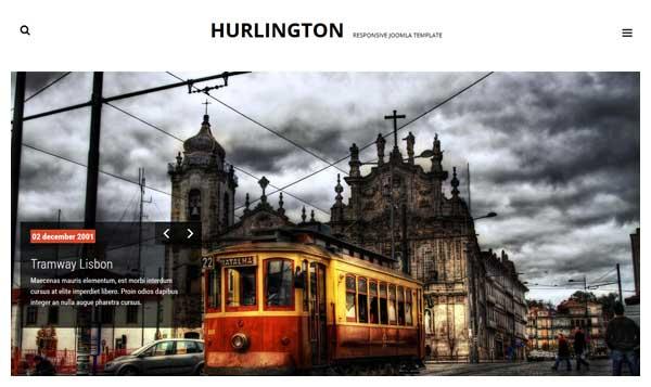 hurlington joomla template